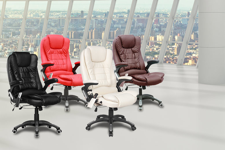 £89 instead of £199 for a heated office chair with a six point massage function - save 55%