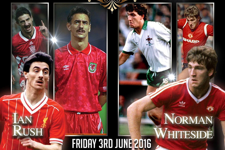 £15 instead of £40 for a ticket to Reds Folklore football legends event on Friday 3rd June at Grand Station, Wolverhampton - save 62%