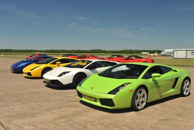 £59 for a triple supercar driving blast experience from Buyagift - get behind the wheel of a Porsche, Ferrari or Lamborghini!
