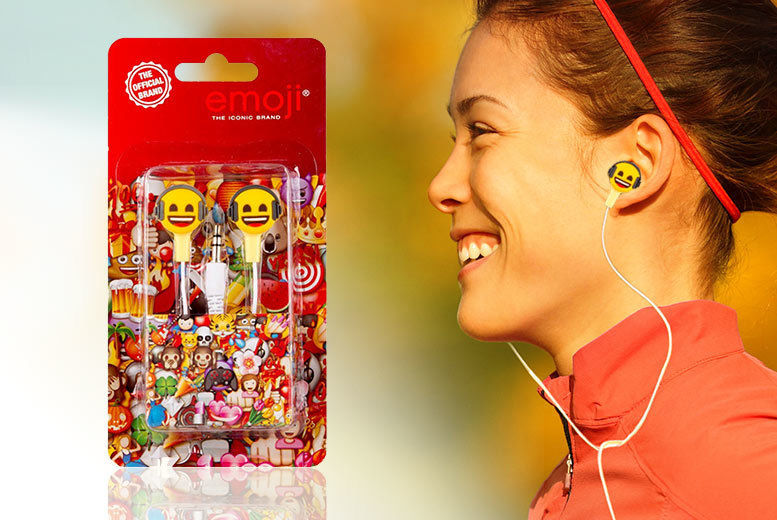 Official Emoji Earbuds for £3.99