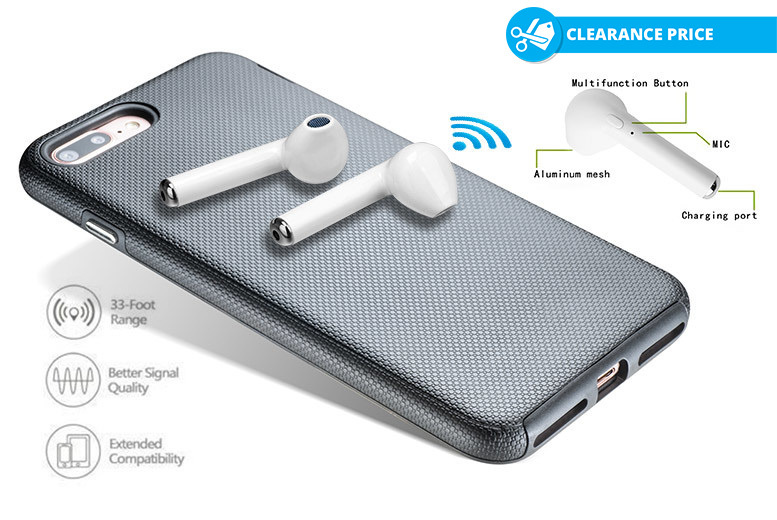 Apple-Compatible Wireless Earphones for £18