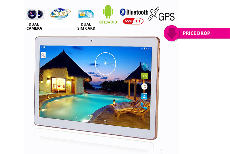 10.1″ 8GB 3G IPS Android Tablet & Keyboard Case from £39.00