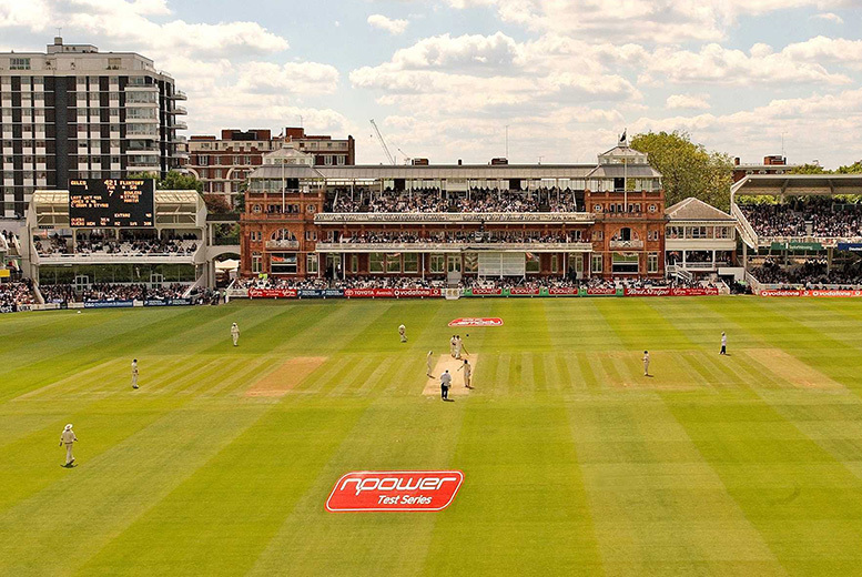 £29 for a tour of Lord's cricket ground for one adult and one child from Buyagift