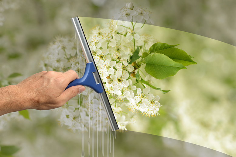 £16 for two sessions of professional window cleaning, £23 for three sessions, from £45 for two or three sessions with gutter clean with UK Window Clean