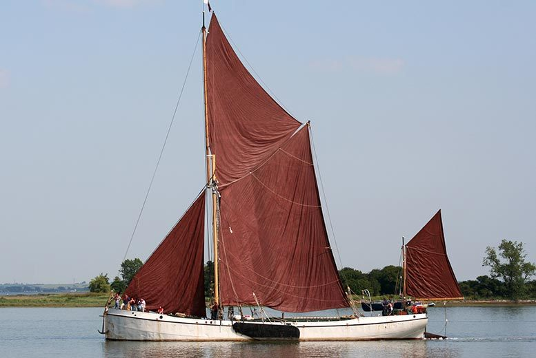 £86 for a sailing on a barge experience with lunch for two people from Activity Superstore