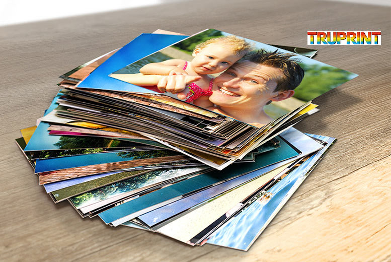 "£3 instead of £24 (from Truprint) for 300 6"" x 4"" photo prints - save a picture-perfect 88%"