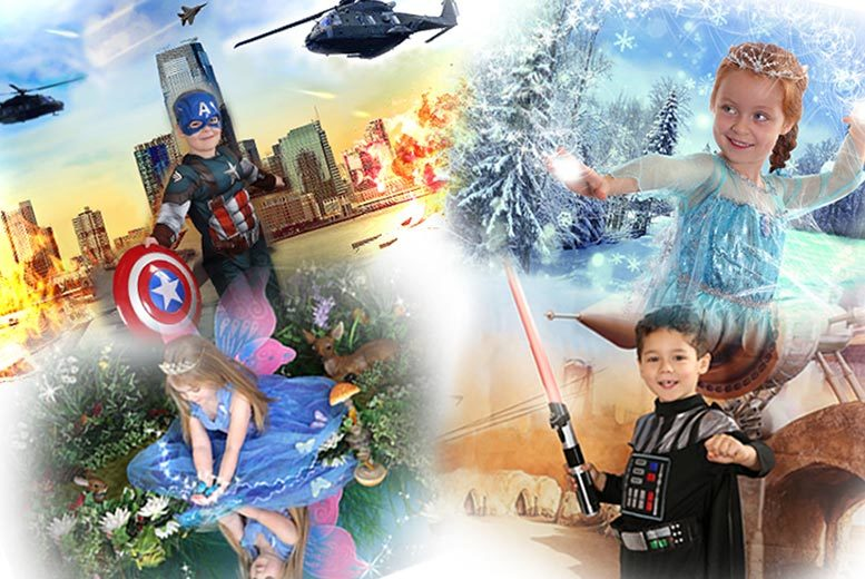 "£9 for a children's themed photoshoot, two 7"" x 5"" prints and a goody bag at Picture Perfect by Mario, Birchington - save up to 92%"