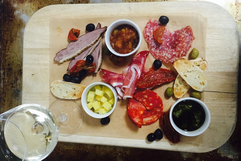 £19 for an antipasti platter for two people with a bottle of wine to share, £37 for four people with two bottles at Renaissance Hotel, Manchester - save up to 62%