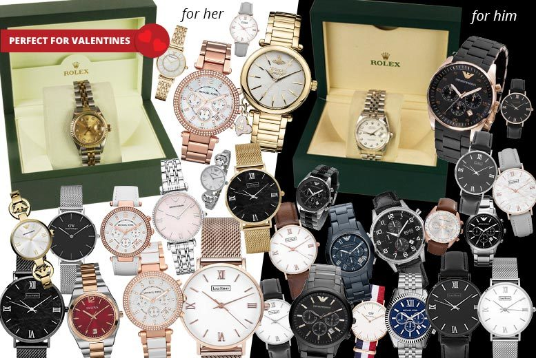 Mystery Watch Deal - Rolex, V.Westwood, MK, L.Henry & More!