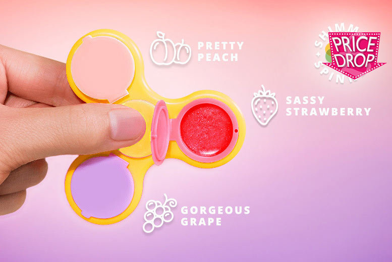 Shimmer Spinner – Lip Gloss Fidget Spinner for £2.99