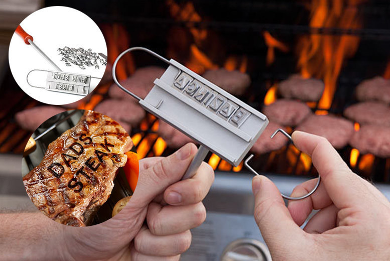 Quirky BBQ Branding Iron for £9.99