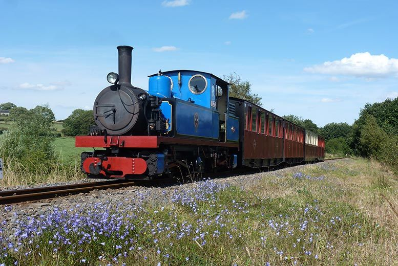 £6 instead of £13 for a ticket for one adult and one child to the Kirklees Light Railway, £7 for two adults or £12 for a family of four - save up to 54%