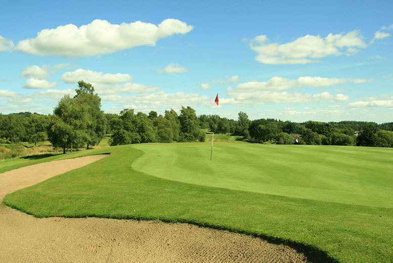 £16 for a golf day pass and a filled roll for one person,  £27 for two people at Callander Golf Club - save up to 70%