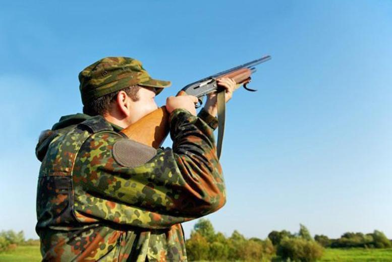 £39 for clay pigeon shooting with 25 clays, 25 cartridges and breakfast, £74 for two people or £139 for four people at Cloudside Shooting Club, Congleton