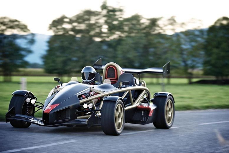£69 for an Ariel Atom 300 thrill driving experience at one of 12 UK locations from Buyagift