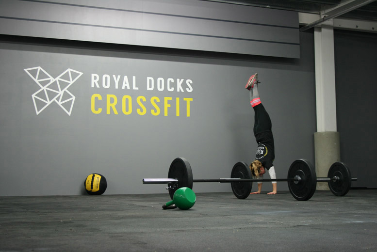 £10 instead of £160 for eight beginner CrossFit classes at Royal Docks CrossFit - save 94%