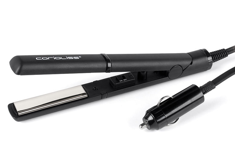 Corioliss On-the-Go Titanium In-Car Hair Straighteners for £13.99