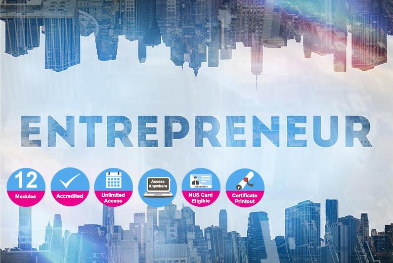Accredited Certificate in Entrepreneurship for £9