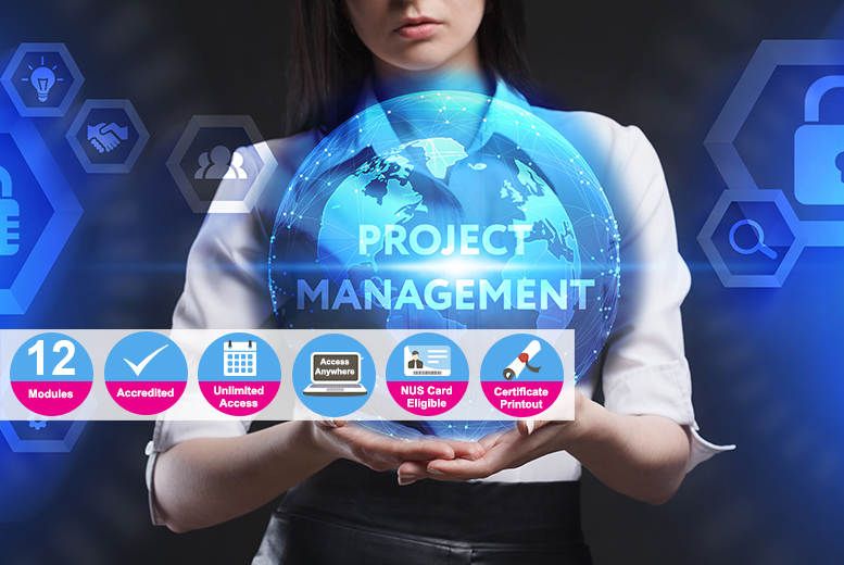 Accredited Certificate in Project Management for £12