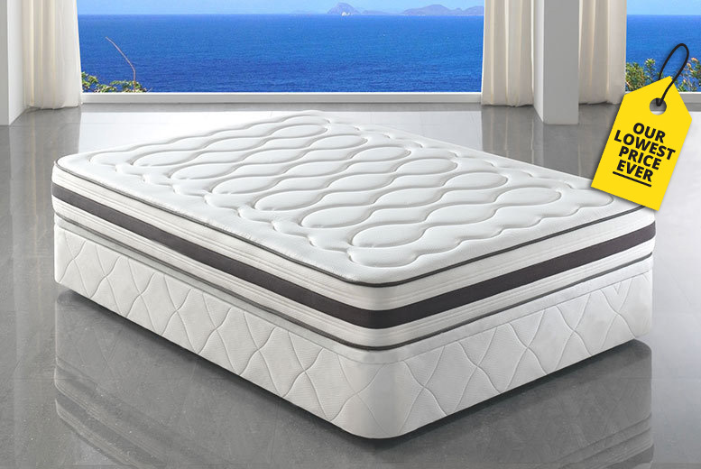 Tranquility 4000 Memory Pocket Spring Mattress from £149