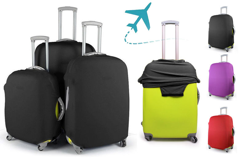 Dustproof Suitcase Cover – 3 Colours & 3 Sizes! from £4.99