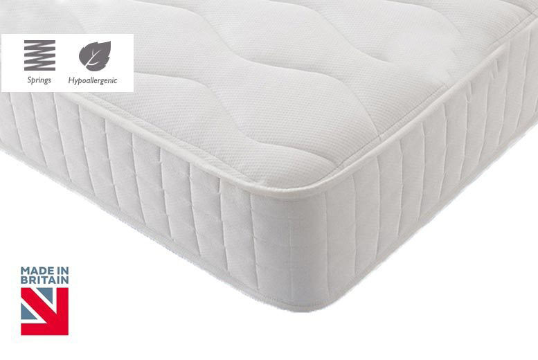 Quilted Hypoallergenic Memory Spring Mattress - 6 Sizes!
