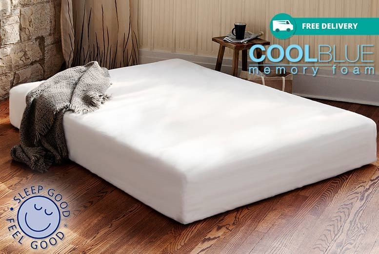 Orthopaedic CoolBlue™ Memory Foam Mattress from £79
