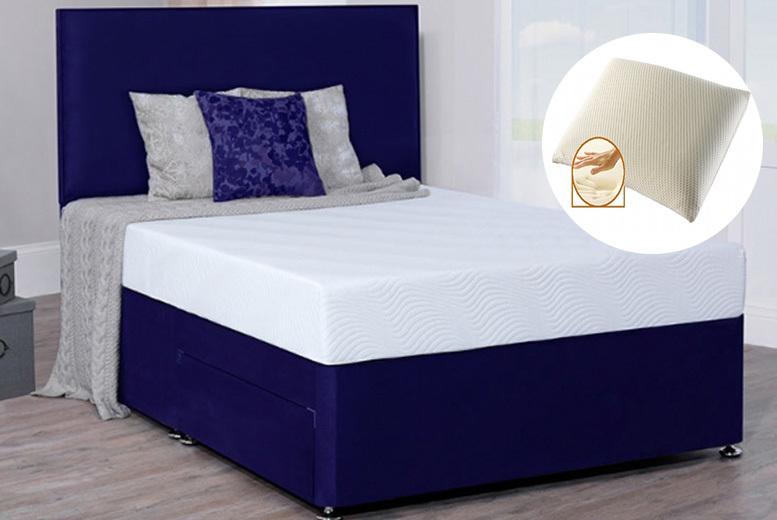 FreeFlex Quilted Memory Foam Mattress & Pillows