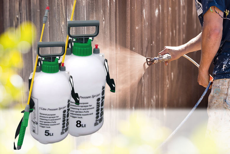 5L Fence & Weed Sprayer for £6.99