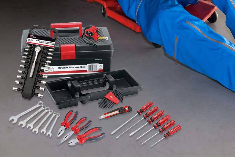 47pc draper tool kit and storage box