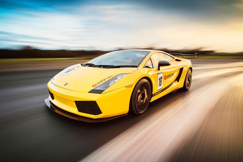 £79 instead of £139 for a 14-lap Lamborghini Gallardo driving experience with Drift Limits, Hemel Hempstead - save 43%