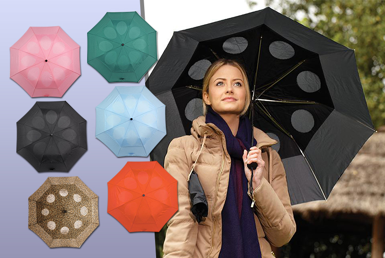 £7.99 instead of £17.99 (from Easylife) for a StayDry windproof umbrella - choose from six colours and save 56%