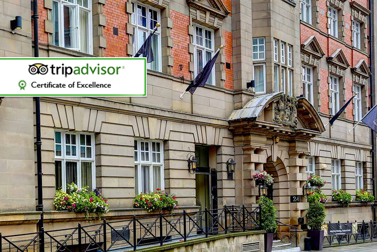 £79 (at The Richmond Hotel) for an overnight 4* city break for two plus a bottle of Prosecco, breakfast and leisure access, £149 for two nights - save up to 68%