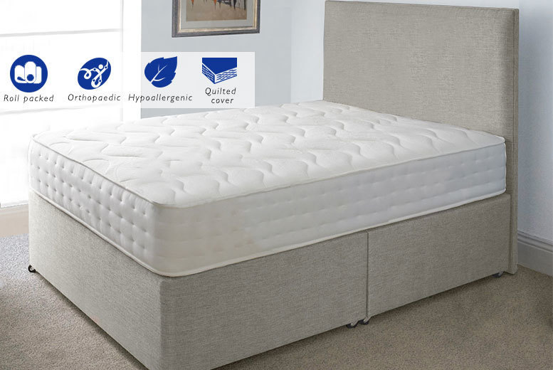 Evolution Interactive Orthopaedic Memory Sprung Mattress from £59