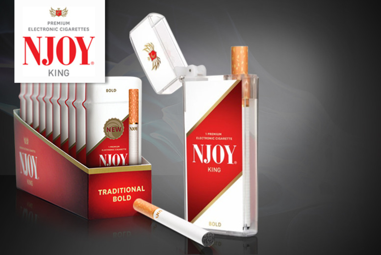 £8.98 instead of £17.97 (from NJOY) for a 3-pack of NJOY electronic cigarettes, or £24.99 for a 10-pack - save up to 50% + DELIVERY INCLUDED