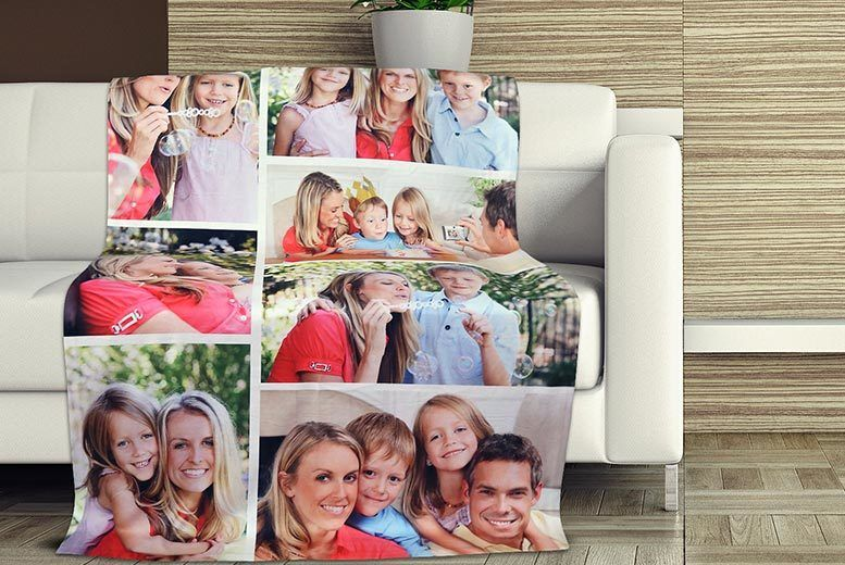 Image of From £12.99 for a personalised photo blanket from Eastmon Online PTY LTD - save up to 87%