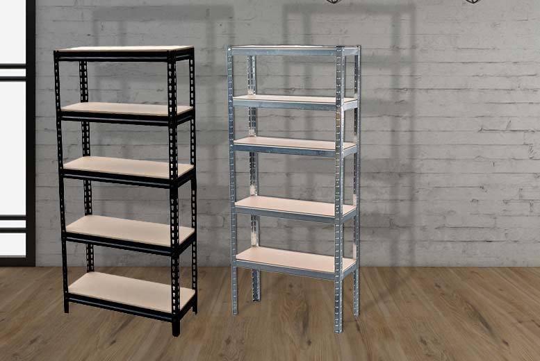 5 tier shelf racking