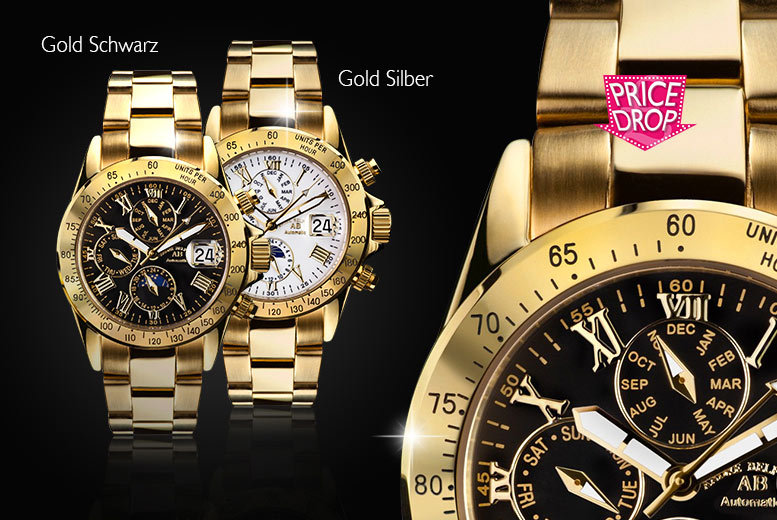 £169 instead of up to £1402.26 (from Kendor Van Noah) for an André Belfort Le Capitaine watch - choose from seven designs and save up to 88% + DELIVERY INCLUDED!