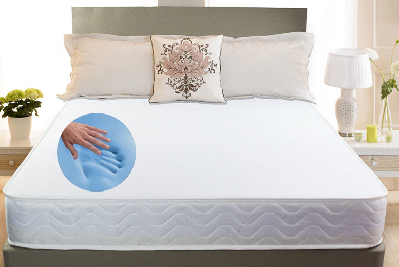 Deluxe Cool Touch Memory Foam Mattress