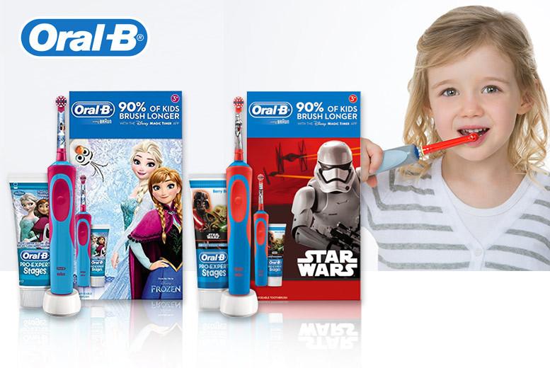 Oral-B Kids' Gift Set – Star Wars or Frozen! for £17.99
