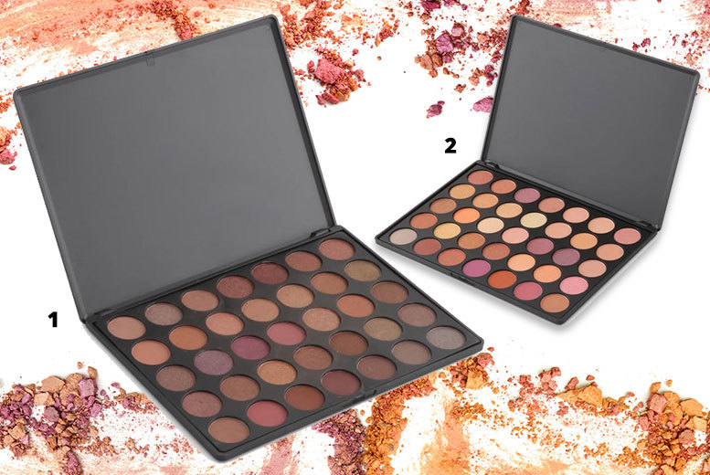 1 or 2 La Roc 35 Colour Eye Shadow Palettes – 5 Colours! from £4.99