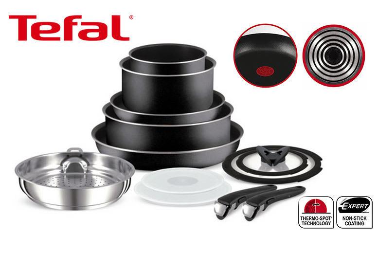 Tefal Ingenio Saucepan Range – 3pc, 4pc, 5pc, 7pc or 13pc! from £25.00