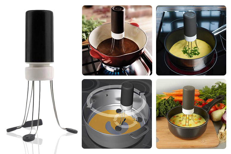 Electric Self-Stirring Sauce Blender for £4.99