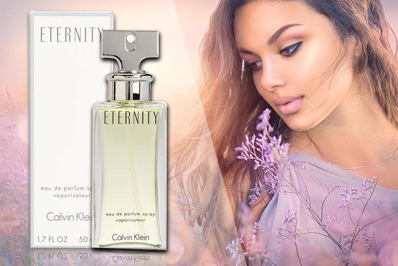 Calvin Klein Eternity Eau De Parfum 50ml for £24.99
