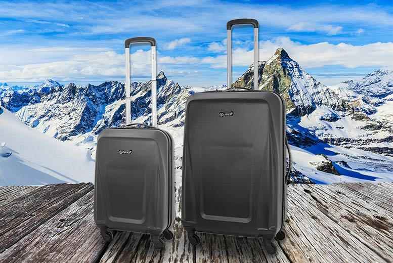 2pc Luggage Set – 2 Colours! for £45.00