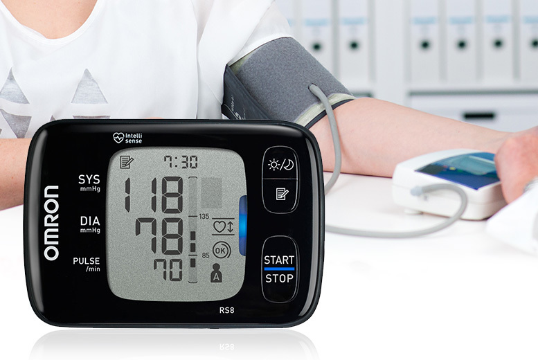 Omron RS8 Wrist Blood Pressure Monitor for £45.00