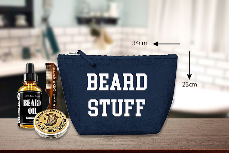 Men's Beard Wash Bag from £7.99