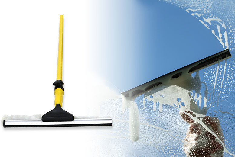 3.5m Extendable Squeegee Window Cleaner for £9.99