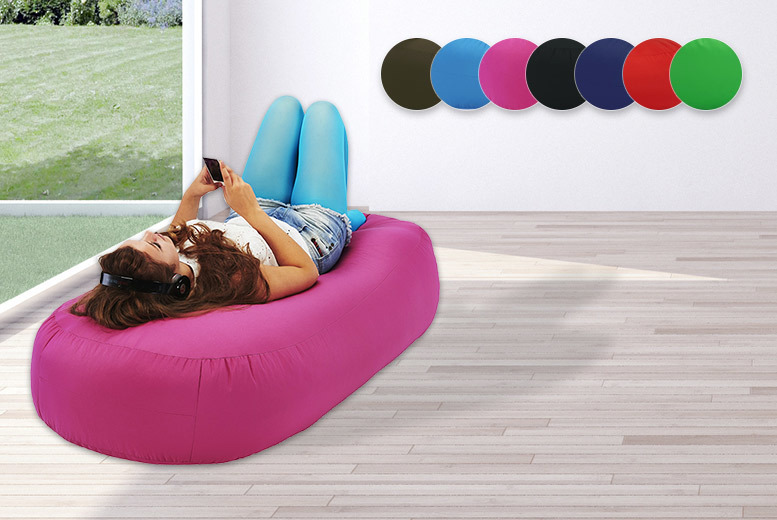 XXL Indoor & Outdoor Beanbag Bed Sofa – 7 Colours! for £44.99