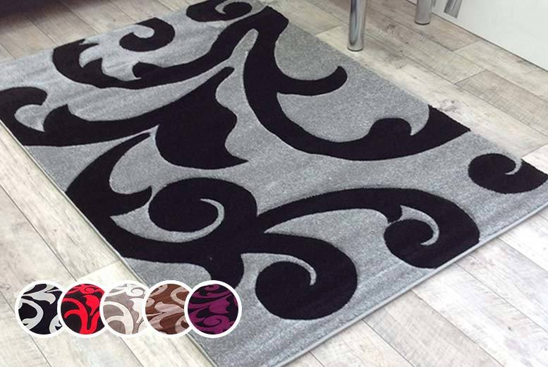 Carved Rug - 4 Sizes and 9 Colours!